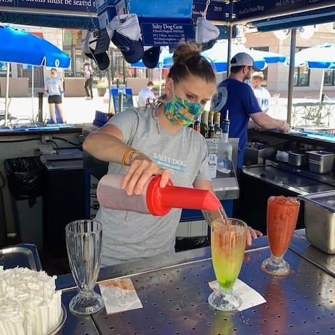 It's summertime and you're thirsty. Why not stop by one of our expanded outdoor patios like The Salty Dog for a cocktail? All of our merchants are following the guidelines established by the Governor and the Mayor for your safety. #faneuilhall #faneuilhallmarketplace #saltydogboston #quincymarket #quincymarketboston #daydrinking