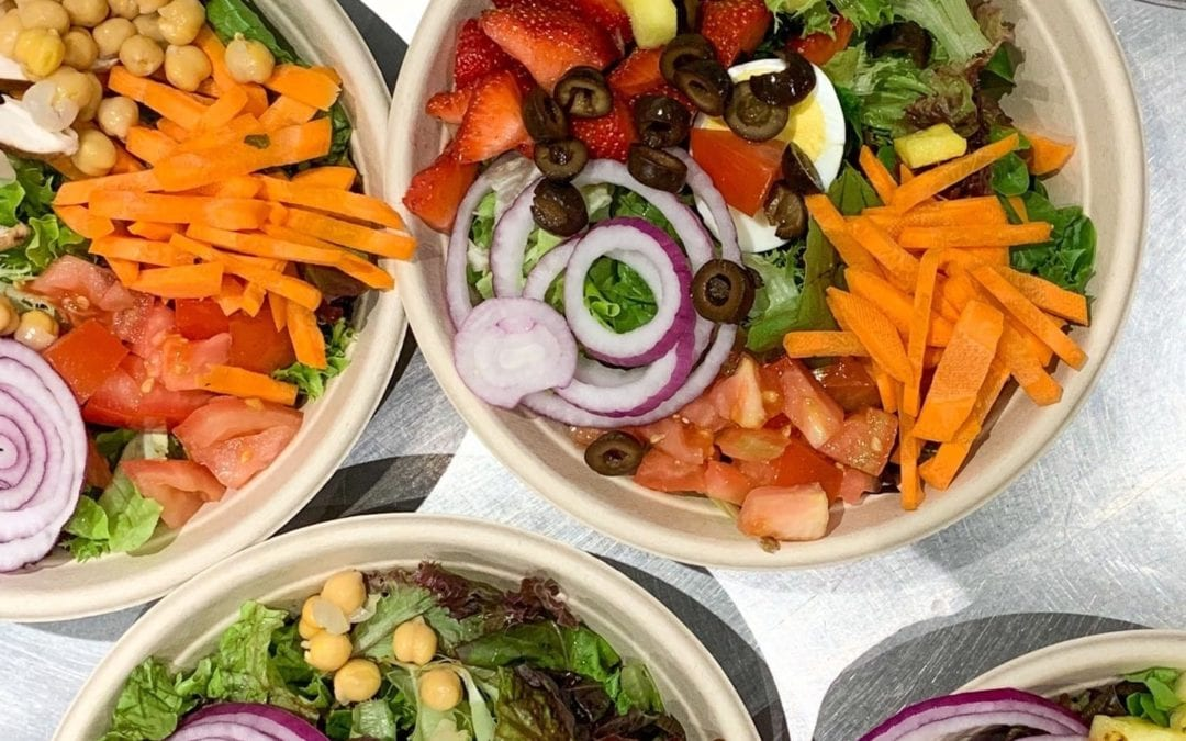 Salads are back at @stillmansfarm! Made to order with the freshest ingredients from the farm…Come and get one! 🥬 🥕🧅🥚