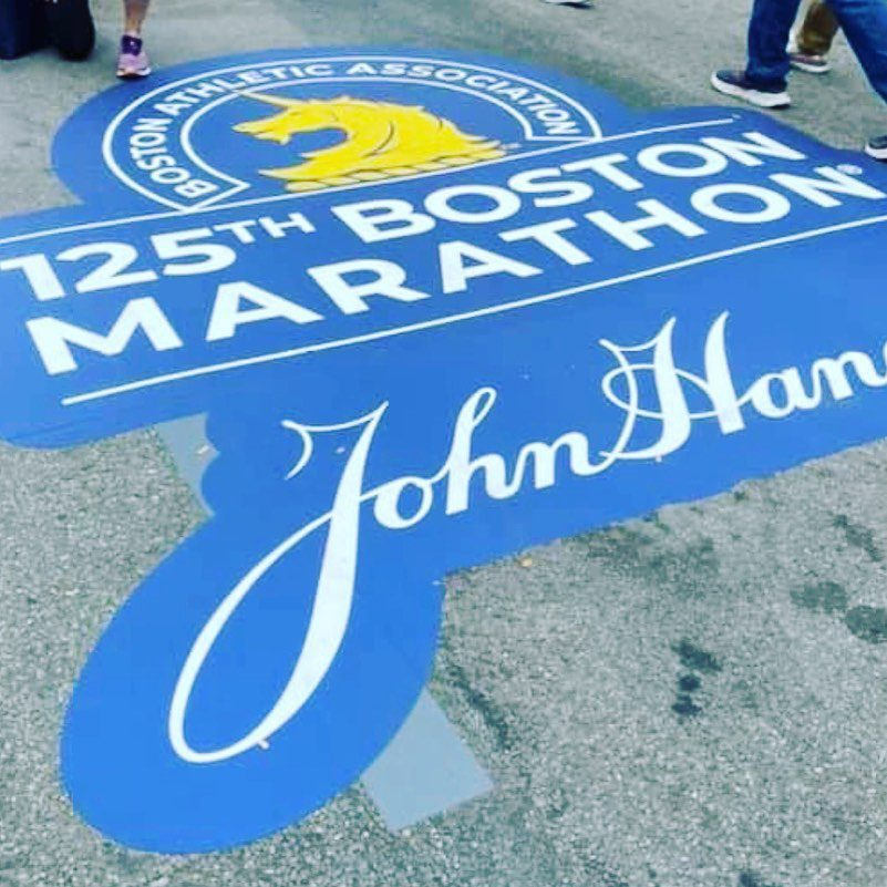 Good luck to all the participants today in the 125th Boston Marathon. #faneuilhallmarketplace #faneuilhall #boston #bostonstrong #bostonpride #goodlucktoall #tradition