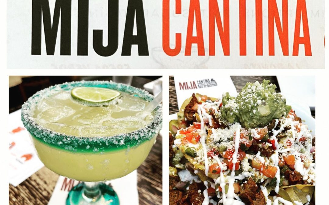 Start your weekend Off right stop by @mijacantina Delicious drinks and these steak nachos are a must. Great Menu. #faneuilhallmarketplace #faneuilhall #mija #margaritas #indoorseating #outdoorseating #nachos #greatstaff #frozendrinks #chipsandsalsa